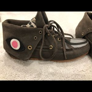 Jerome Dreyfuss moccasin booties